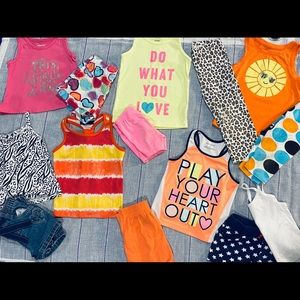 Adorable Girls 2-3T Bundle Tanks Shorts Leggings
